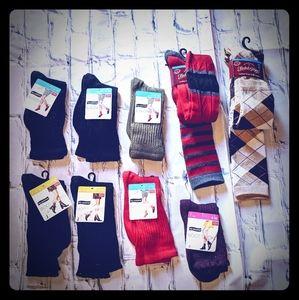 Lot of women's slouch /boot socks